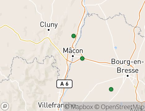 Macon France Map.Golf Guide Macon Golf Courses And Driving Ranges In Macon France