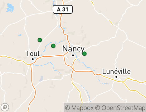Golf Guide Nancy: Golf Courses and Driving Ranges in Nancy, France ...