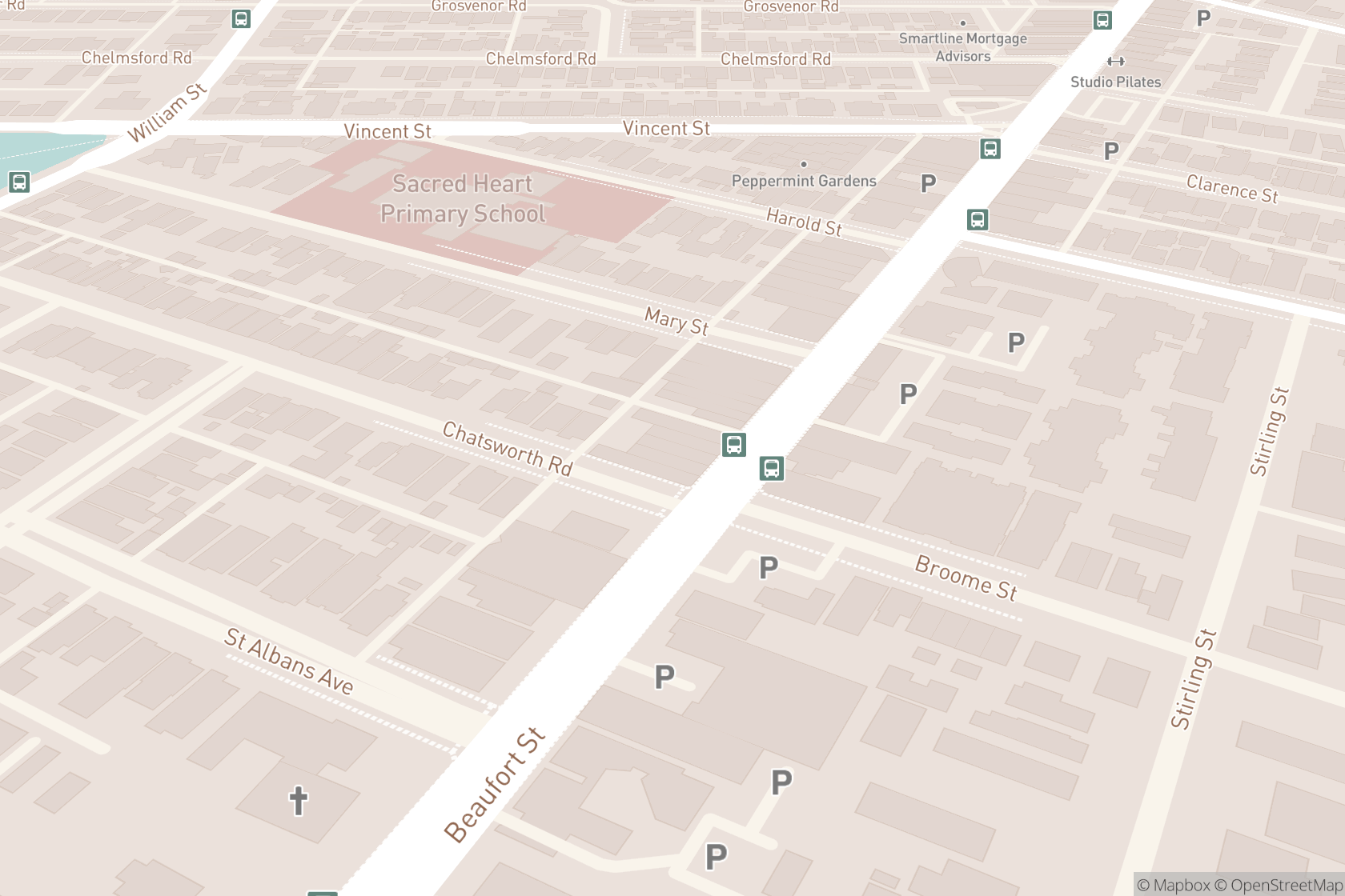 Blinc Blonde Hairdressing map location