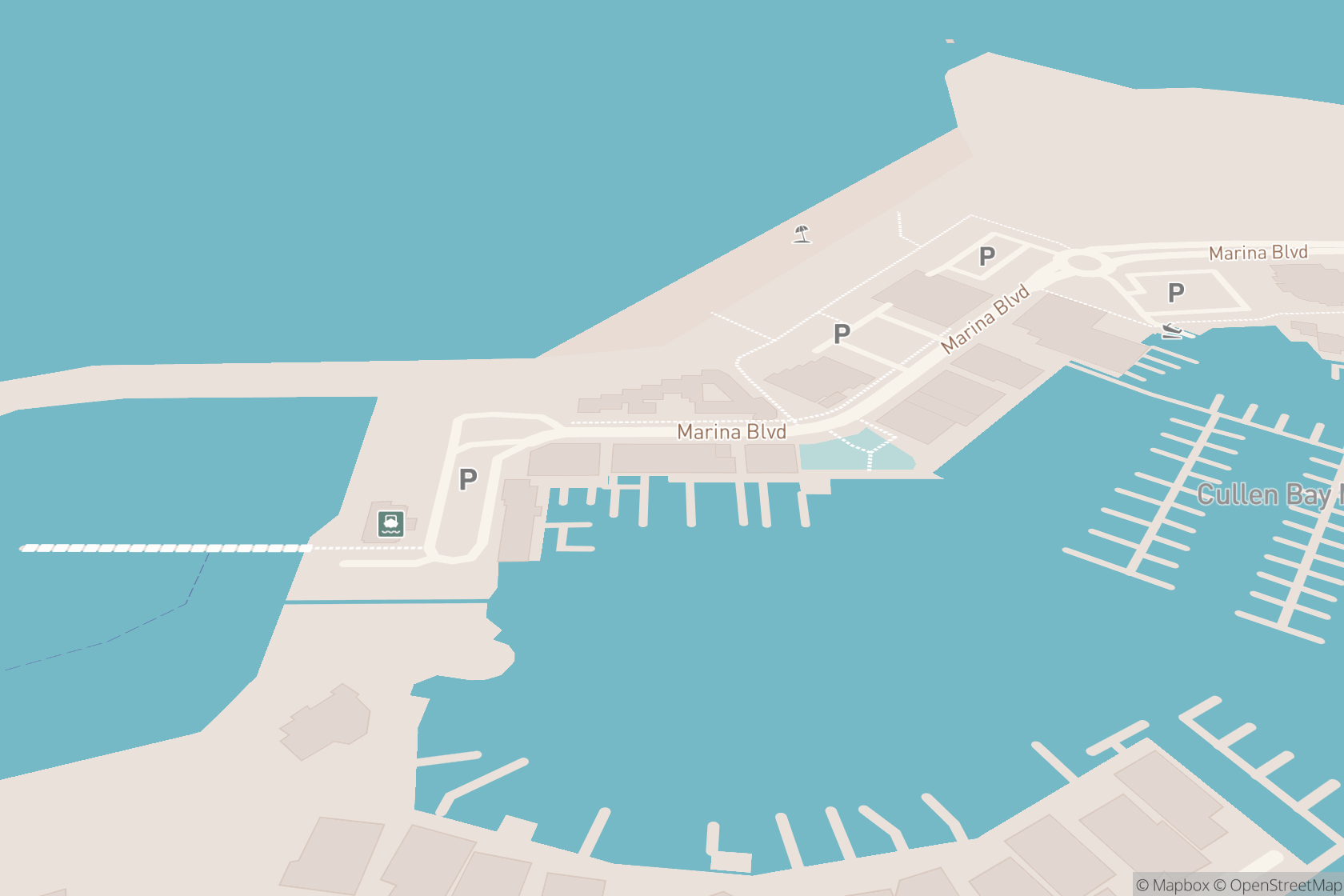 Cullen Bay Day Spa map location
