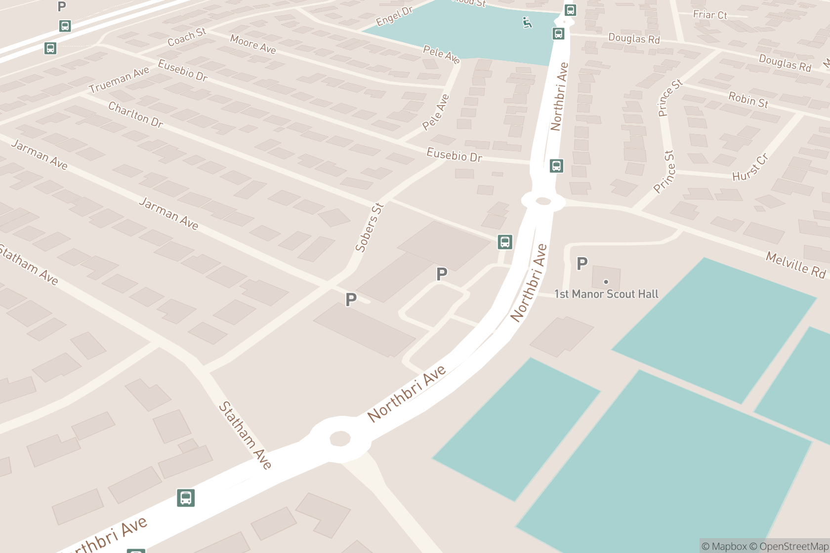 Manor Family Care map location