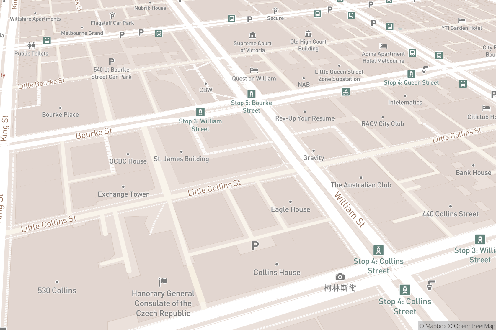 Clear Skincare Clinic - Little Collins Street map location