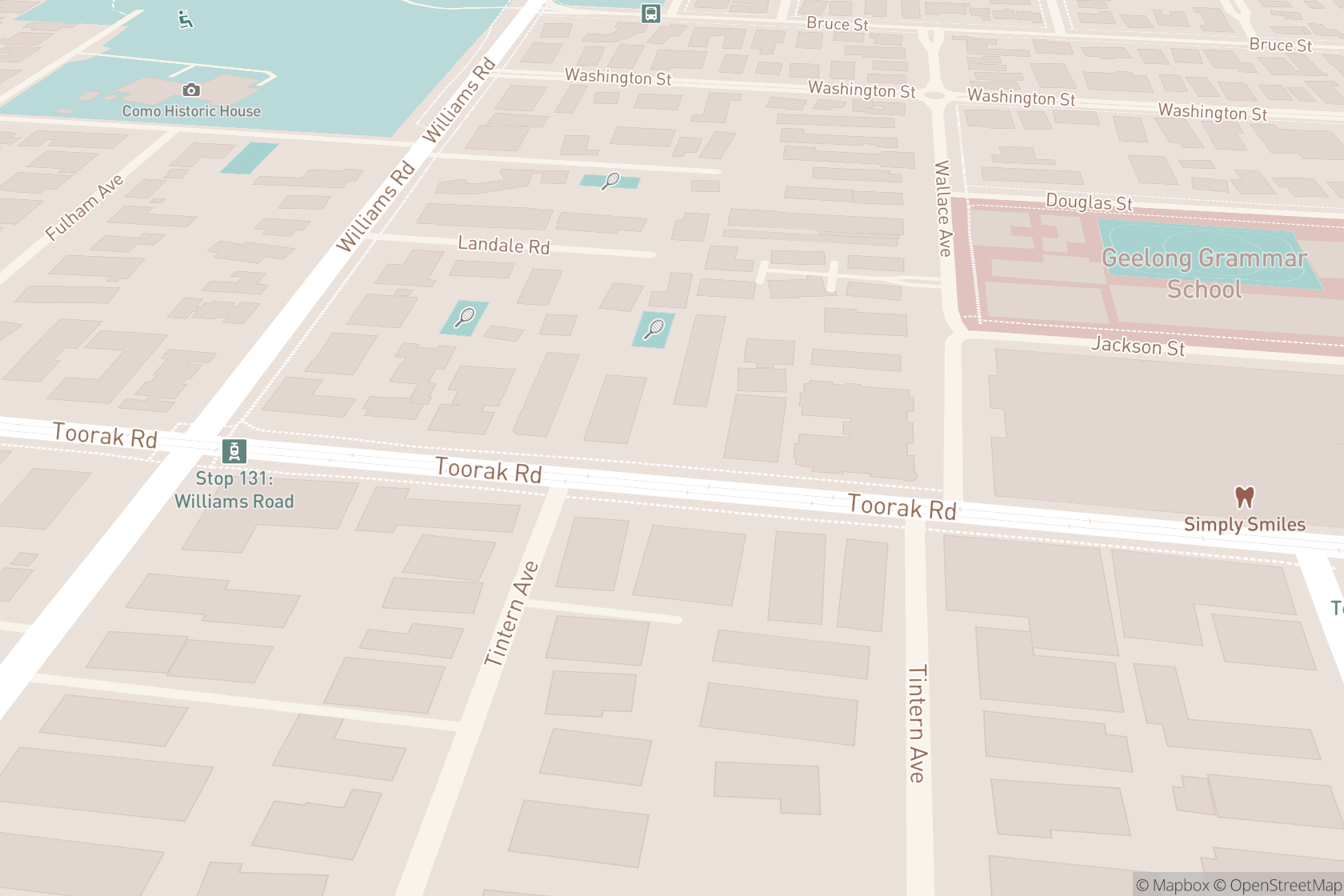 Inspiring Directions map location