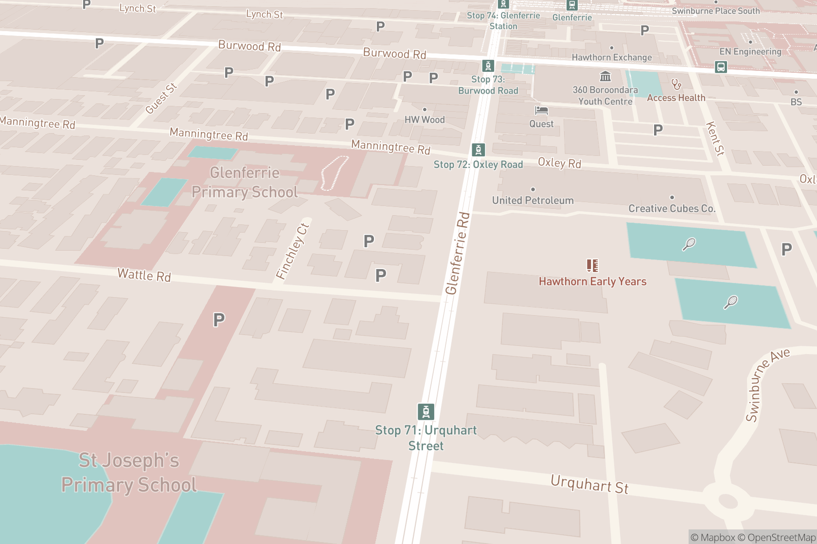 Glenferrie Counselling map location