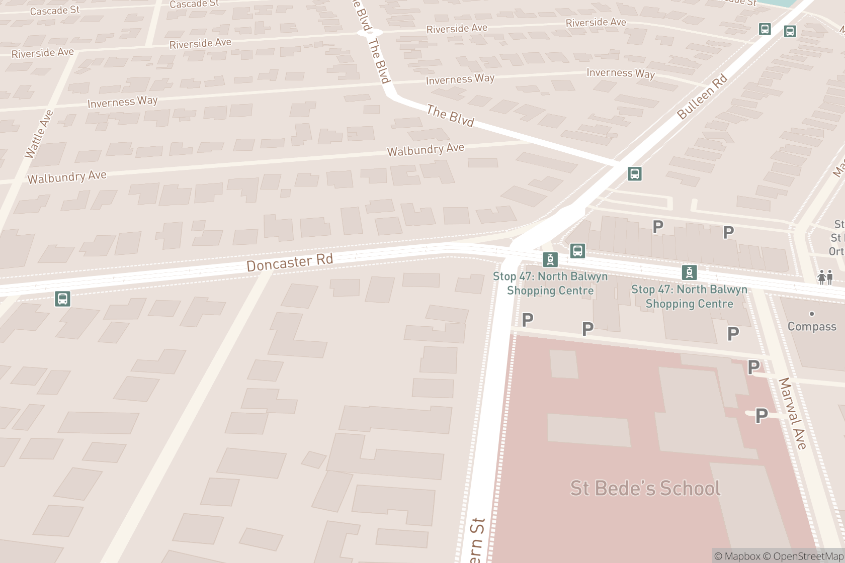 North Balwyn Physiotherapy Clinic map location