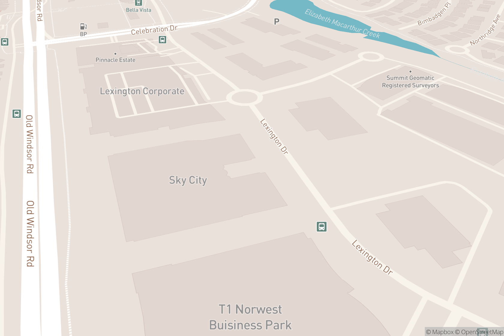 Norwest Orthopaedic & Sports Physiotherapy map location