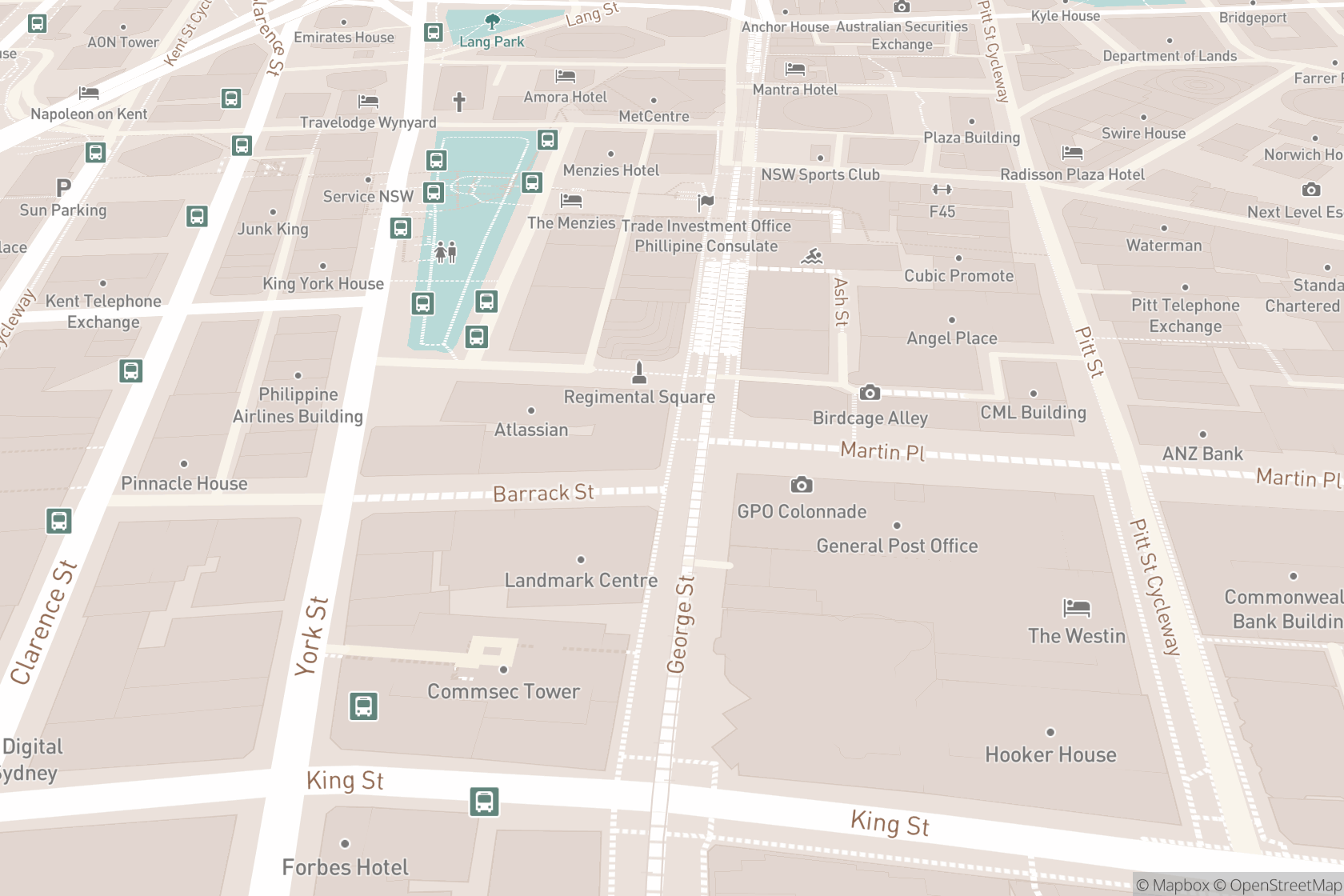 Sydney Osteopathic Clinic map location