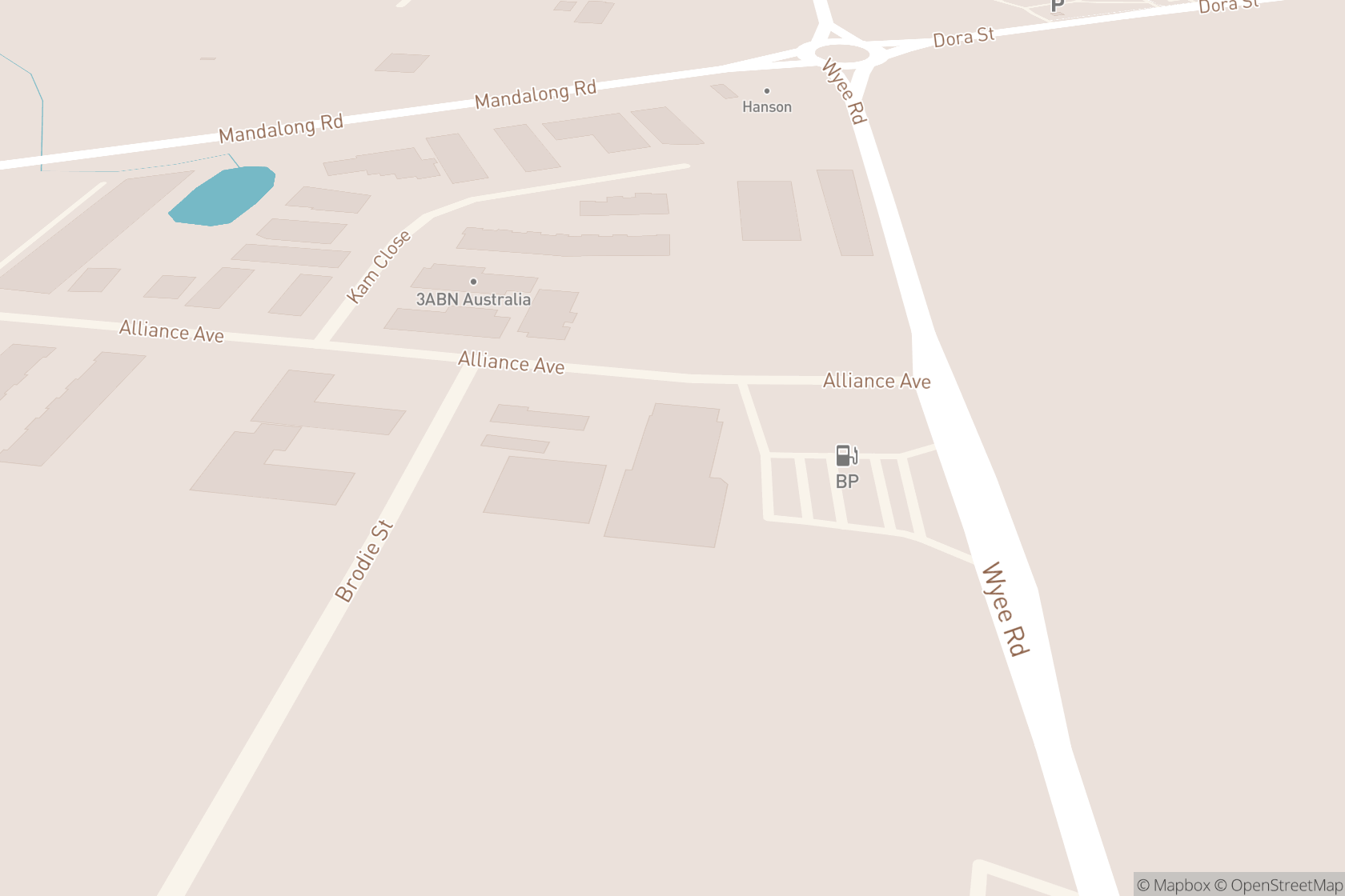 Anytime Fitness map location