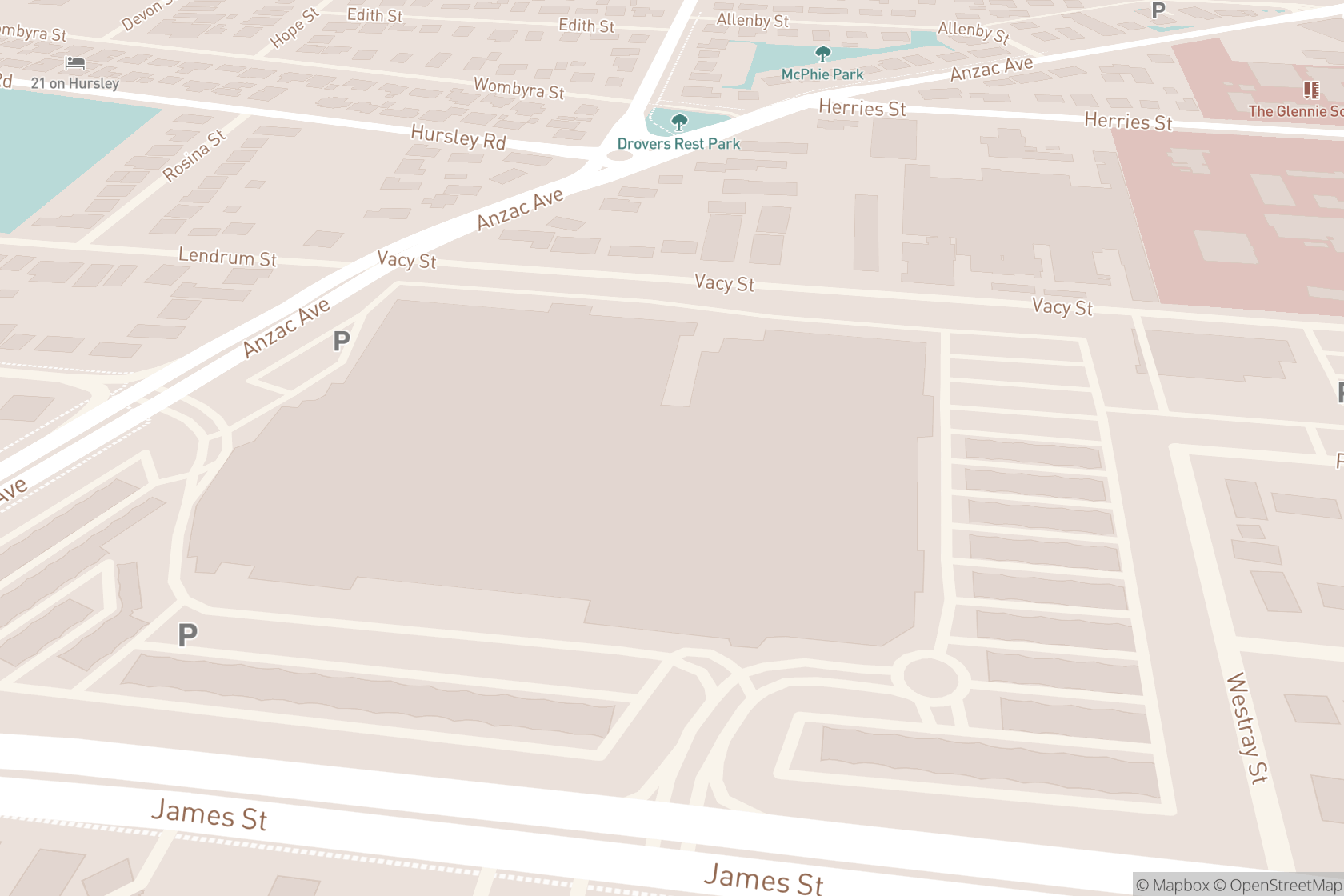Supercuts Hairdressing map location