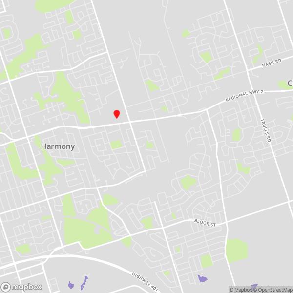 Oshawa data recovery locations map