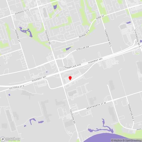 Whitby data recovery locations map for Drop-off Services
