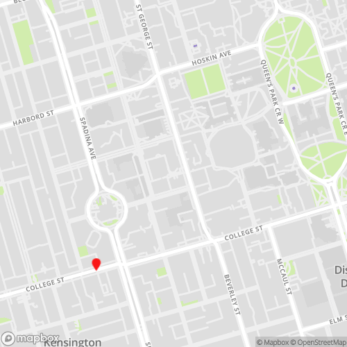 Toronto,Ontario Locations Map for CBL Data Recovery Drop-off Services