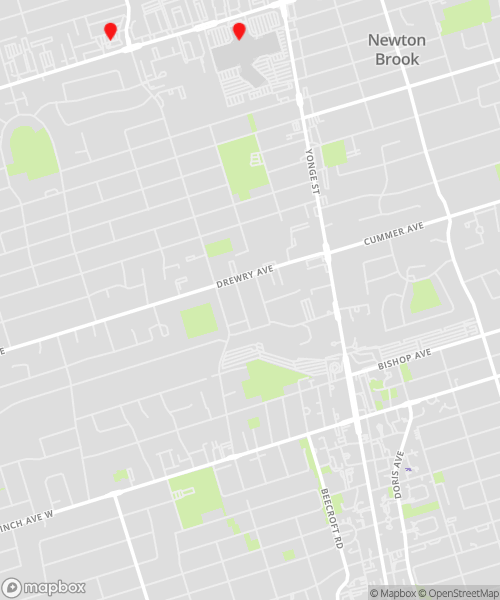 Locations Map for Thornhill/North York Data Recovery Drop-off Services