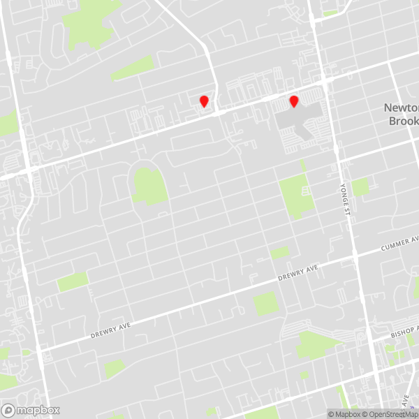 Locations Map for Thornhill/North York Data Recovery Service Points