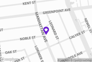 Map and Directions to Natural Cleaners - brooklyn