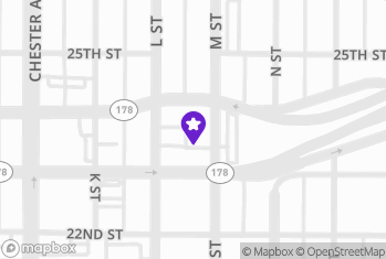 Map and Directions to Juicy Burger