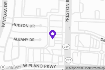 Map and Directions to Perfect Brows - Plano