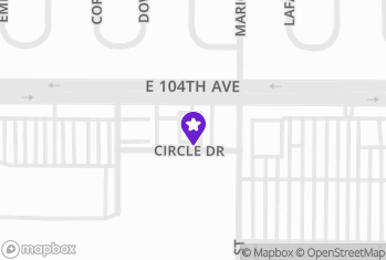 Map and Directions to Thirsty's - Thornton