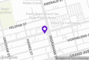 Map and Directions to Thrive CBD - San Diego