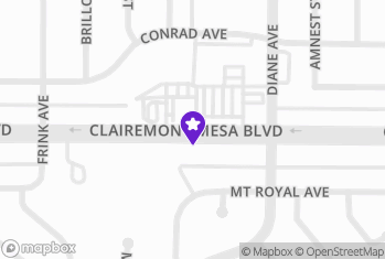 Map and Directions to Vapin' the 619 - Clairemontjog