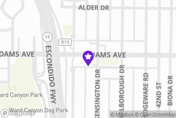 Map and Directions to Buddies and Babes