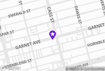 Map and Directions to Butchers Grill House-Garnet Av
