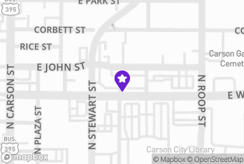 Map and Directions to Cowboy Liquors - Carson City