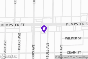 Map and Directions to Smokes & Such - W Dempster St.
