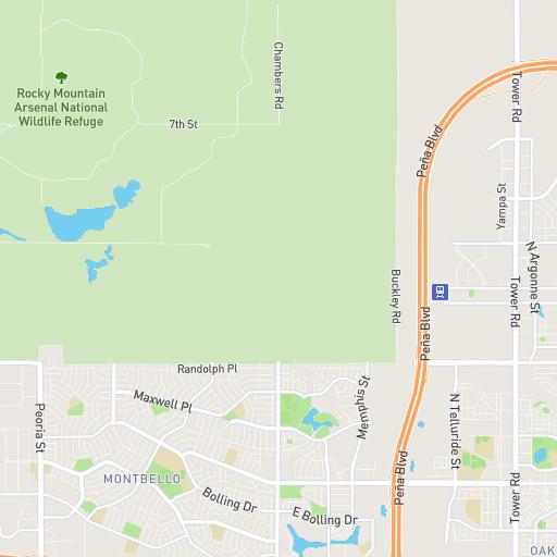 Stapleton Denver Interactive Community Map
