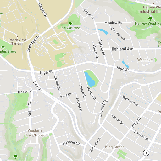 University Of California Santa Cruz Interactive Campus Map
