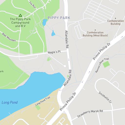 Memorial University Campus Maps Memorial University Of Newfoundland