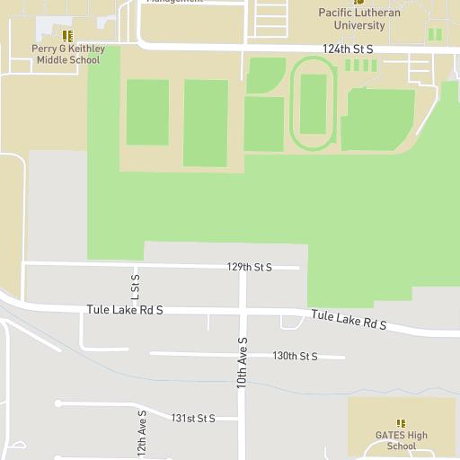 Pacific Lutheran University Campus Map.Map Student Success Plu