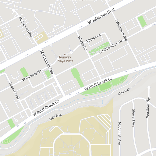 Campus Map Fordham.Interactive Playa Vista Campus Map Loyola Marymount University