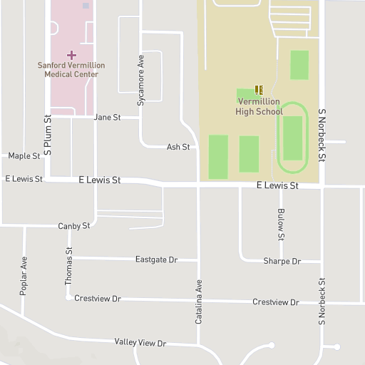 Usd Vermillion Campus Map.University Of South Dakota