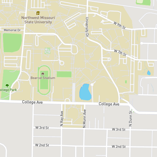 Northwest Missouri Map.Northwest Missouri State University