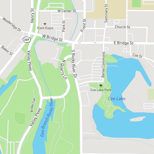 Virtual Map Tour Baldwin Wallace University
