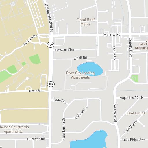 Jacksonville University Interactive Map