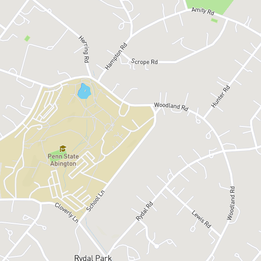 Maps Penn State Abington