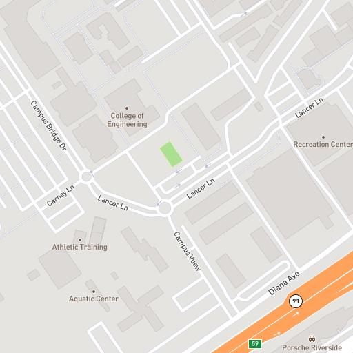 California Baptist University Campus Map.California Baptist University