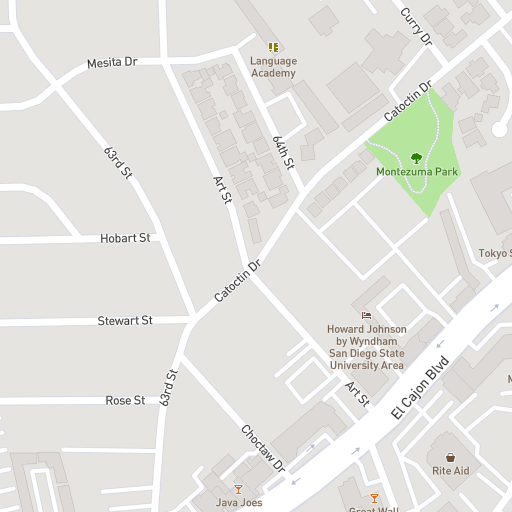 Hobart Campus Map.Campus Map Bethel University