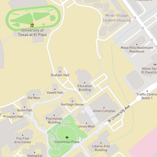 Campus Map Utep.Campus Map