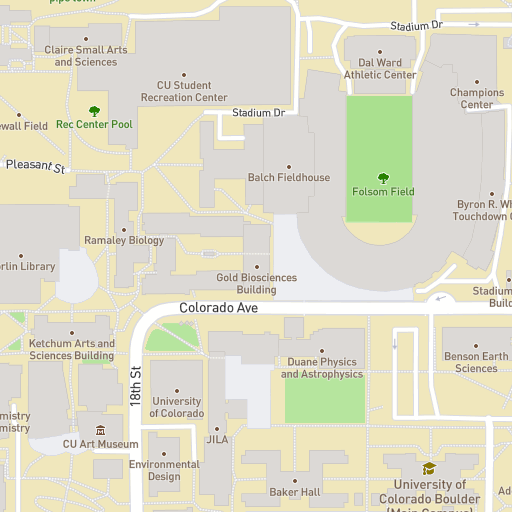 Campus Map | University of Colorado Boulder