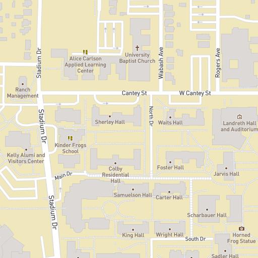 Princeton Campus Map Pdf.Tcu Interactive Map