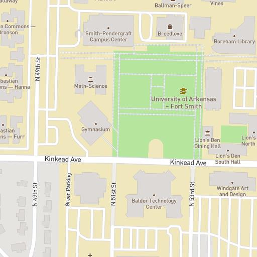 Uafs Campus Map