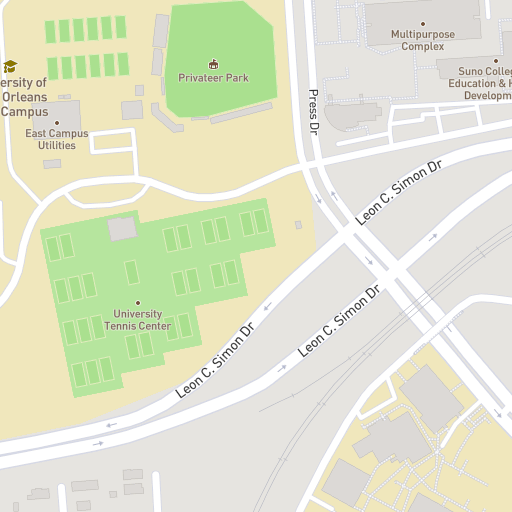 Baton Rouge Community College Campus Map.Maps And Directions Southern University At New Orleans