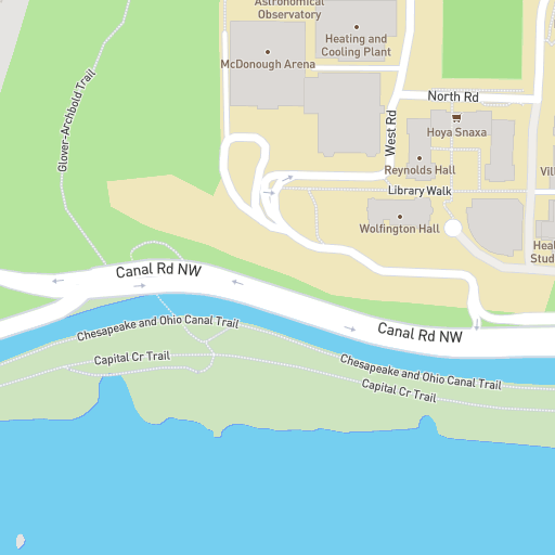 Georgetown University Campus Map