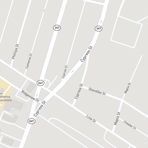 Map Penn State Scranton