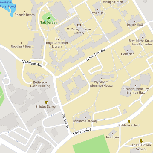 Taft College Campus Map.Campus Map Shipley School