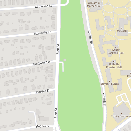 Norwich Campus Map.Trinity College Campus Map