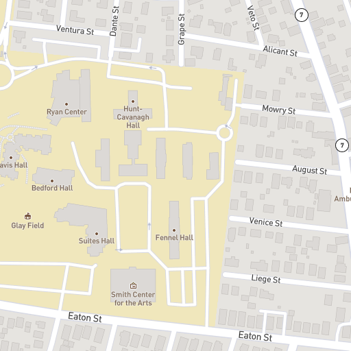 Campus Map Providence College